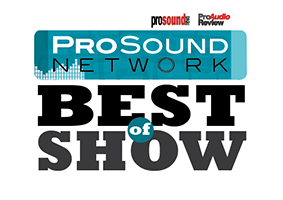 Pro Sound Network Best of Show