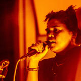 Rina Mushonga using the MTP 940 CM live on stage at Metropolis Studios for Clash live at Metropolis