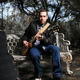 Albert Castiglia uses the MTP 550 DM live stage microphone